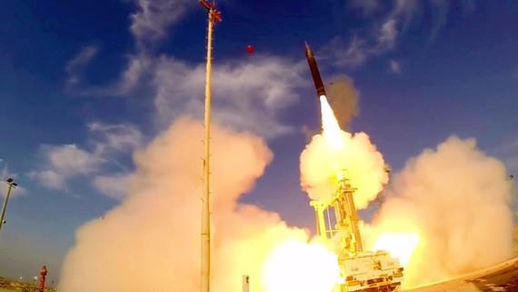 """以色列""""箭-3"""" 洲際彈道導彈"""
