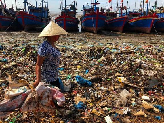 到處可見的塑料垃圾。(圖源:光世)