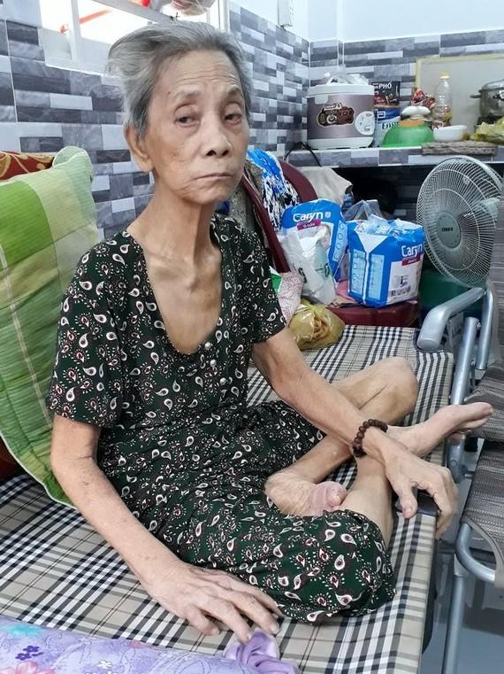 梁燕紅婆婆日夜受病痛折磨。