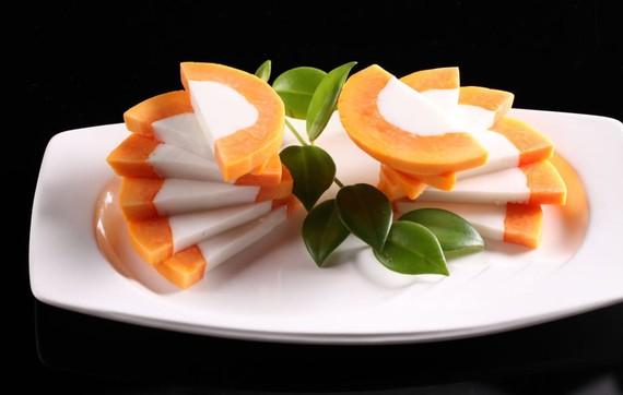 教您三步做好木瓜奶凍。(示意圖源:互聯網)