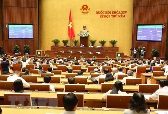 國會議事堂討論現場一瞥。(圖源:越通社)