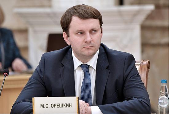 俄羅斯經濟發展部長奧列什金。(圖源:互聯網)