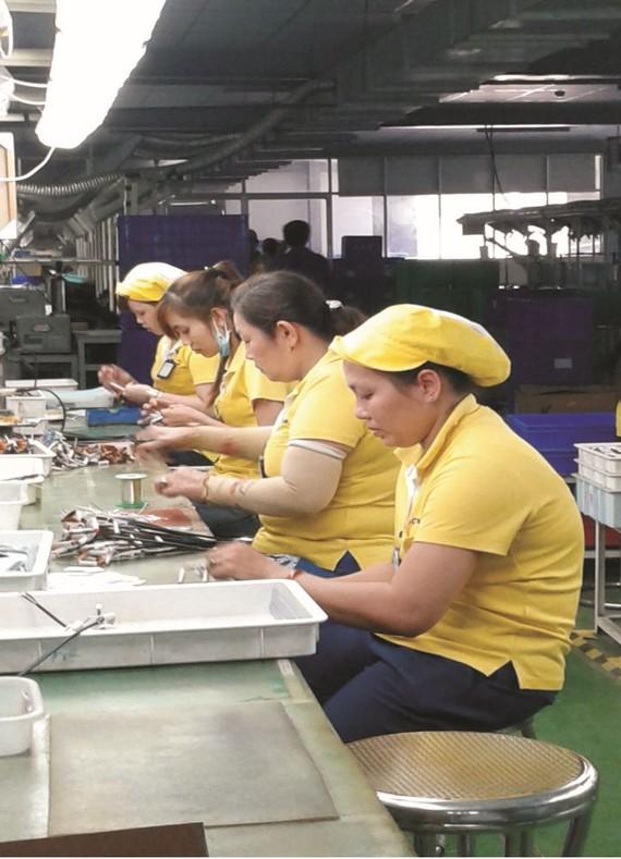 大部分女員工對工作充滿熱愛。