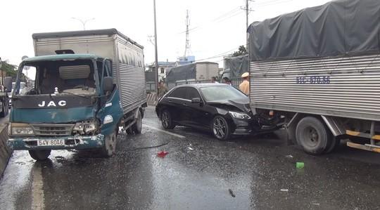 該起交通事故現場。(圖源:X.Giang)