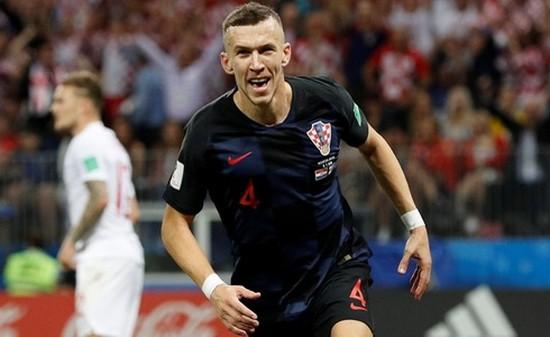 佩里希奇為克羅地亞扳平比分。(圖源:互聯網)