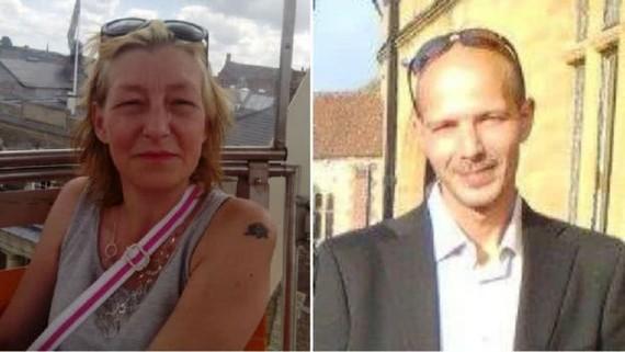 目前案件中45歲的羅利(右)已恢復意識,但情況仍然危急。