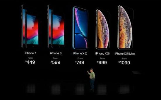蘋果公司推出多款新品。(圖源:互聯網)