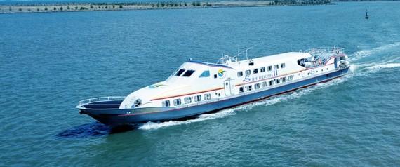 頭頓-崑崙島高速船航線獲審批。(示意圖源:SuperDong)