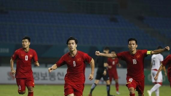 越南男足選手隊。