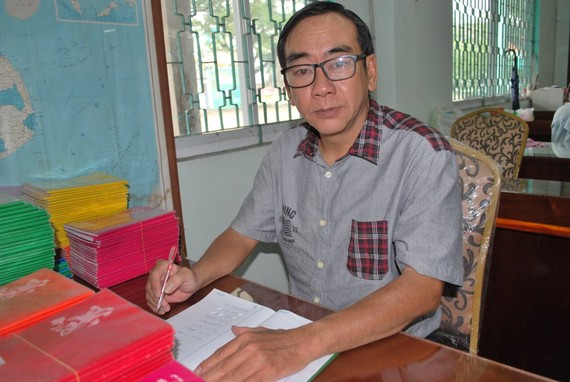 周智勤老師熱愛教學工作。