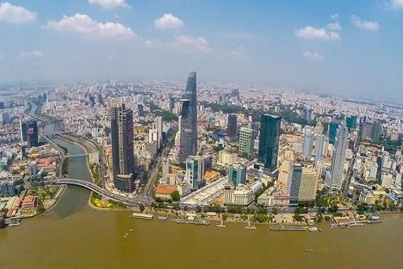 4 大城市公家財產逾 780 萬億元。圖為胡志明市一瞥。(示意圖源:互聯網)