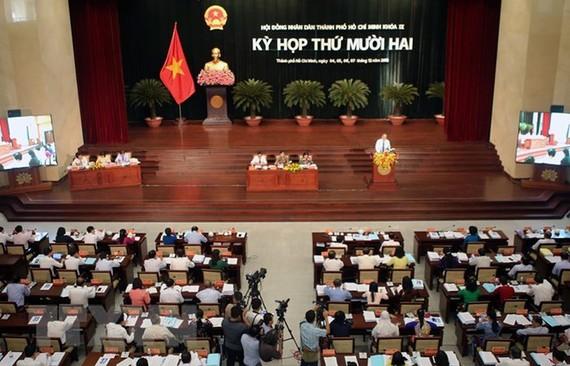 第九屆市人民議會第十二次會議現場。(圖源:誠鐘)