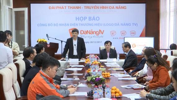 Họp báo công bố thay đổi logo và bộ nhận diện thương hiệu Đài PT-TH Đà Nẵng