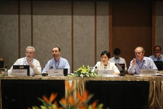 Ban điều hành phiên họp Hội đồng Quỹ Môi trường toàn cầu lần thứ 54