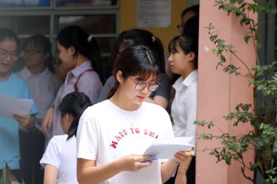 Dự kiến 7 giờ sáng 11-7, Cụm thi số 4 - Hội đồng thi Sở GD-ĐT TP Đà Nẵng sẽ công bố điểm thi