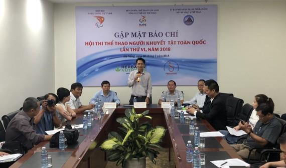 Ban tổ chức họp báo công bố chương trình hội thi Thể thao người khuyết tật toàn quốc - 2018