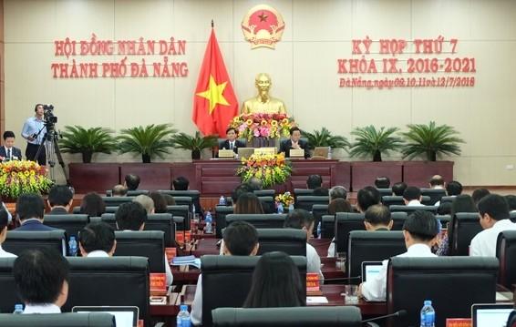 Kỳ họp thứ 7, HĐND TP Đà Nẵng khóa IX chính thức được khai mạc sáng nay, 10-7