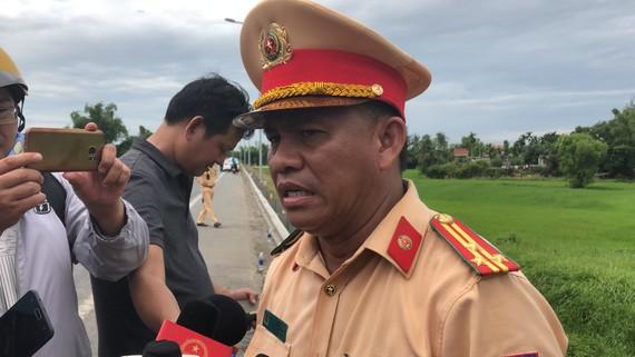 Thượng tá Phan Thanh Hồng, Phó Trưởng phòng CSGT Công an tỉnh Quảng Nam