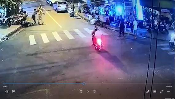 Vị trí xảy Nguyễn Mạnh Tấn đánh CSGT