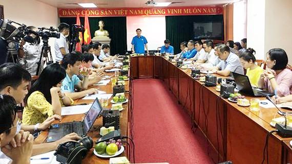Họp báo về Đại hội Công đoàn Việt Nam