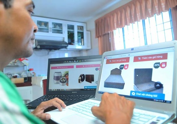 Online shopping on CoopHomeShopping (Photo: SGGP)