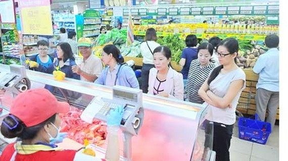 Co.opMart Cong Quynh in HCMC (Photo: SGGP)