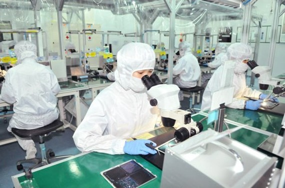 An FDI firm in Tan Thuan Export Processing Zone, HCMC (Illustrative photo: SGGP)