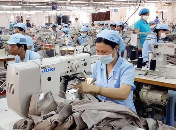A garment plant in HCMC (Illustrative photo: SGGP)
