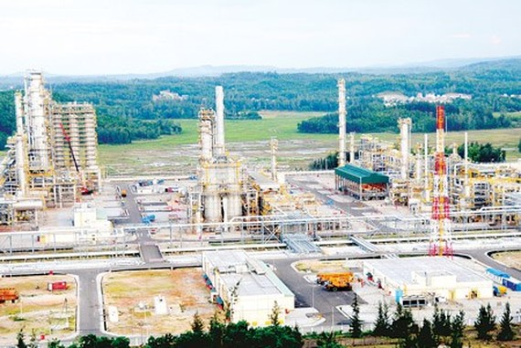 Dung Quat refinery in Quang Ngai province (Photo: SGGP)