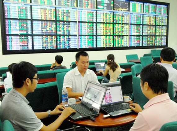 A stock exchange in HCMC (Illustrative photo: SGGP)