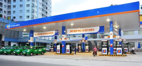 A filling station of Petrolimex