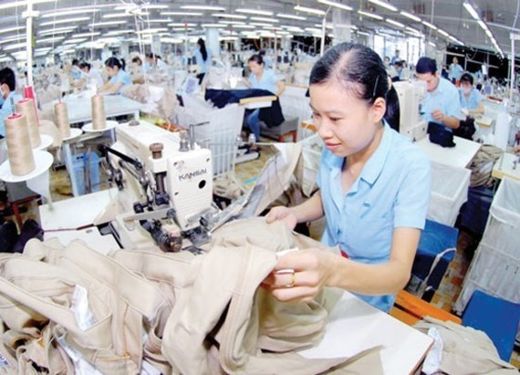 A garment firm in HCMC (Photo: SGGP)