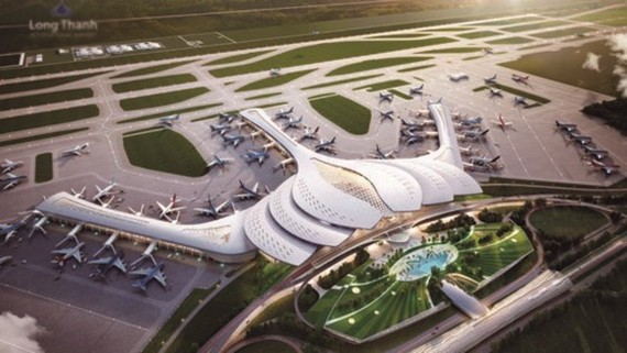 One of designs of Long Thanh International Airport