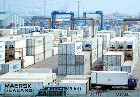 A view of Cat Lai  seaport (Photo: SGGP)