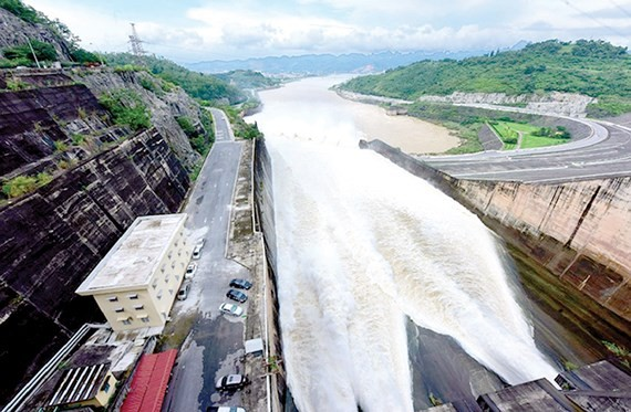 A hydropower reservoir (Photo: SGGP)