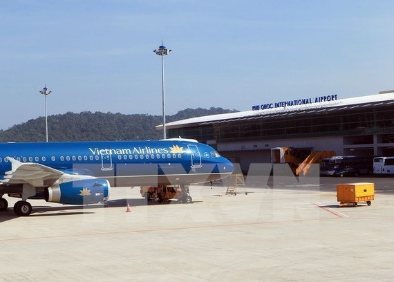 Phu Quoc International Airport is among the big investment projects subject to an SAV audit in 2019 (Photo: VNA)