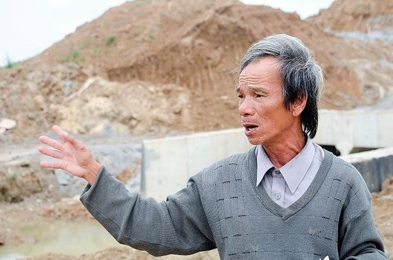 Mr. Pham Tan Luc has denounced wrongdoings in Da Nang-Quang Ngai expressway (Photo: TIENPHONG.VN)