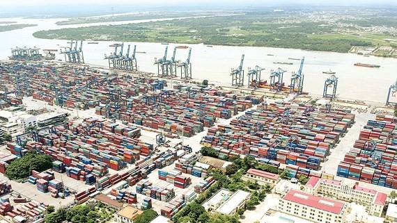 A seaport in HCMC (Illustrative  photo: SGGP)