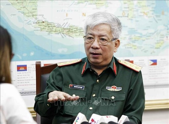 Deputy Defence Minister Senior Lieutenant General Nguyen Chi Vinh (Photo: VNA)