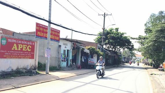 Nhà xây dựng không phép trên đất công của Phân viện miền Nam Học viện Thanh thiếu niên Việt Nam (quận 9)