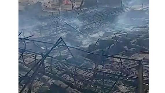 Peru: Hỏa hoạn phá hủy di tích 2.000 năm tuổi