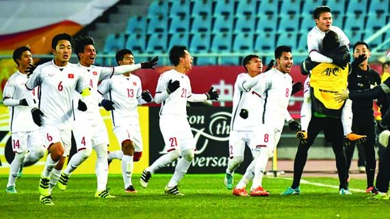 Với chiến thắng U23 Iraq và Qatar, U23 Việt Nam được Tập đoàn Xây dựng Hòa Bình thưởng 1,5 tỷ đồng