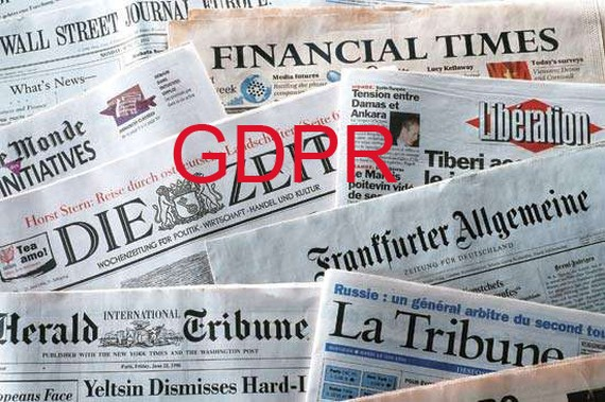 Hệ lụy từ GDPR