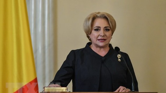 Thủ tướng Dancila. Nguồn: AFP/TTXVN