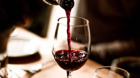 Rượu vang California có mức phóng xạ cao