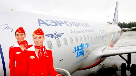 Hãng hàng không quốc gia Nga Aeroflot đối mặt với khả năng bị cấm bay tới Mỹ