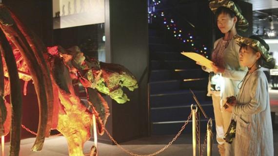 Ðêm ở viện bảo tàng khủng long