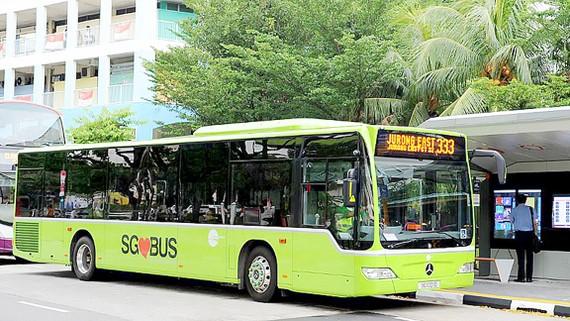 Xe buýt theo yêu cầu ở Singapore