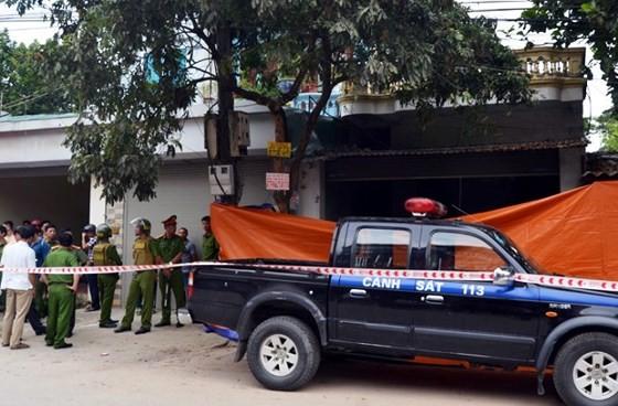 Hiện trường vụ nổ súng ở TP Điện Biên Phủ khiến 3 người thiệt mạng