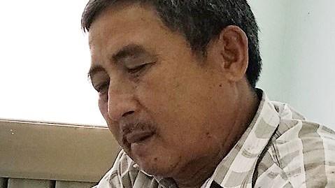 Đối tượng  Nguyễn Văn Toán tại cơ quan điều tra